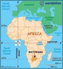 Botswana in Africa etc
