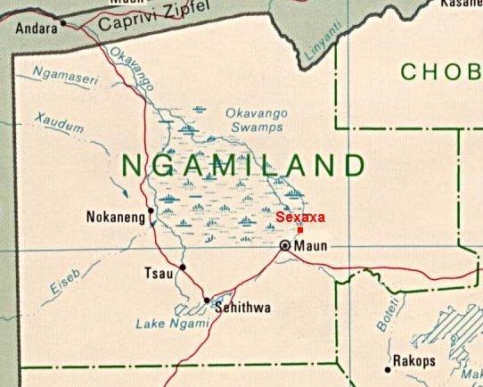 Maps Sexaxa Village