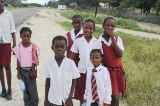 Sexaxa kids walking home from school 2010